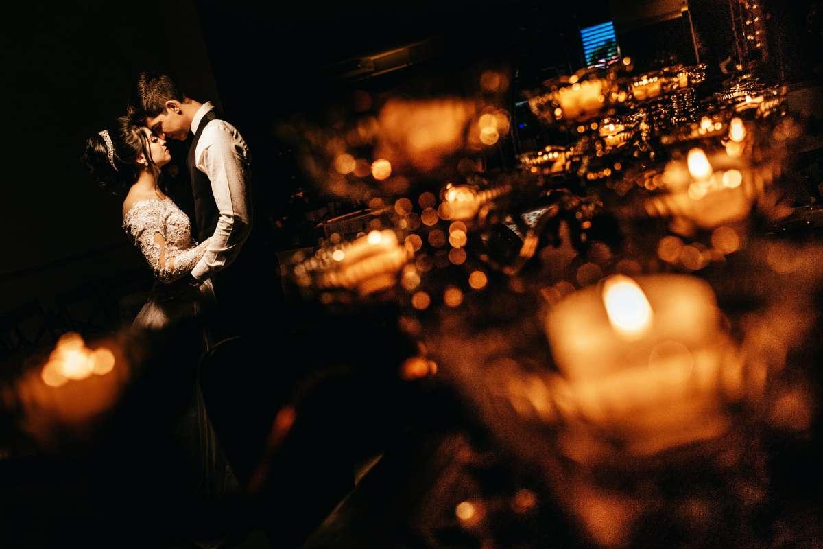 Low Light Wedding