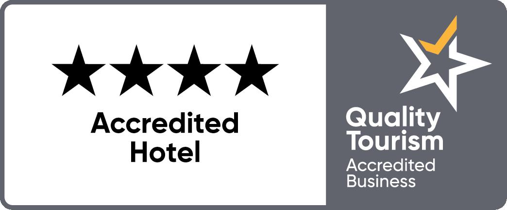 Qtab Accredhotel Horizontal Grey+yellow Rev 4star