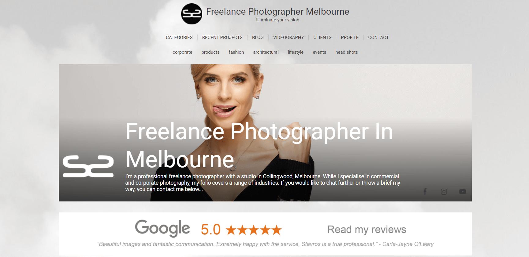 Freelance Photograper Melbourne