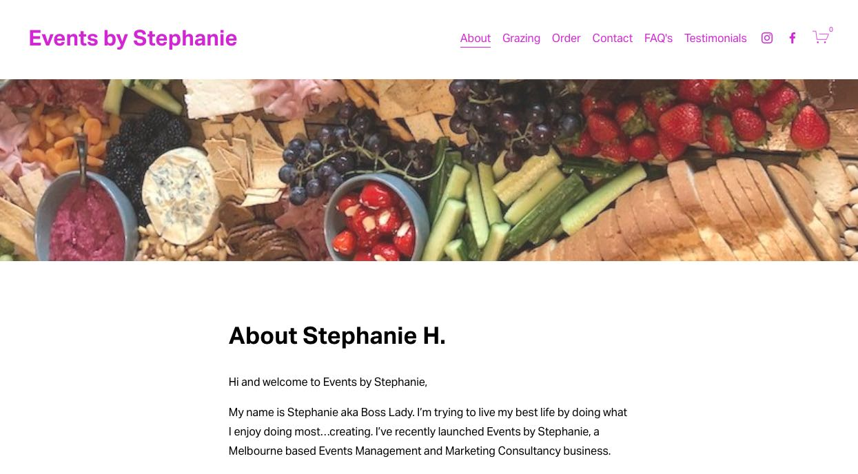 Events By Stephanie Grazing Table Melbourne