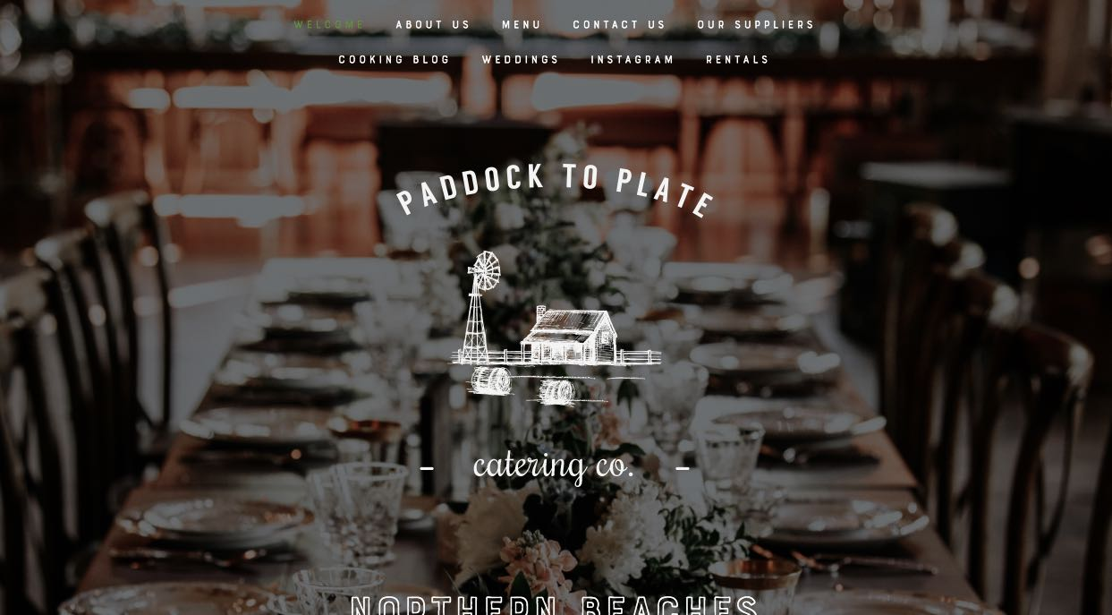 Paddock To Plate Catering Co. Glazing Table Melbourne