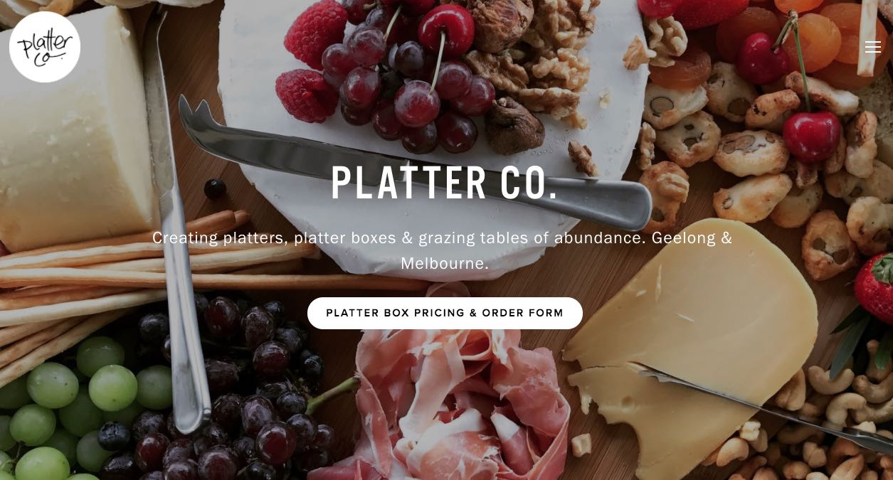 Platter Co. Glazing Table Melbourne