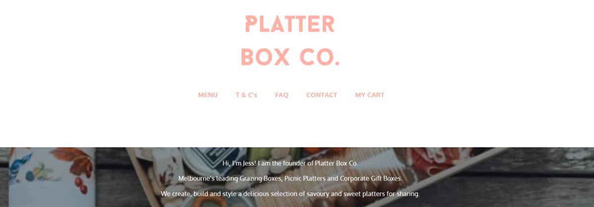 Platter Box Co