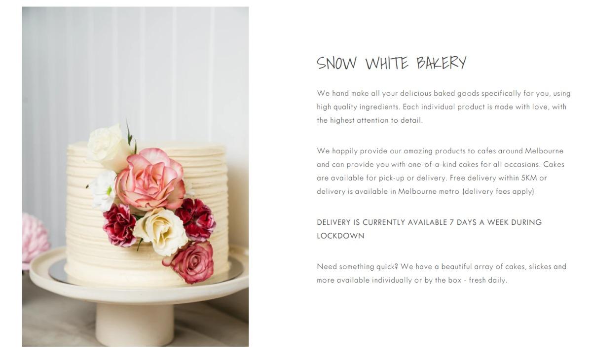 Snow White Bakery